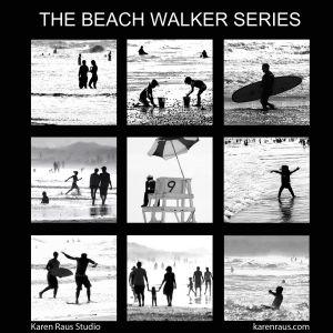 Beach Walker Series of 9